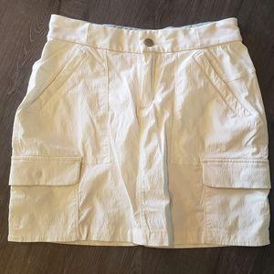 Athlete Cargo Pockets Skort in white